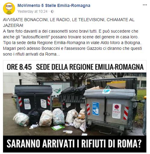 complotto monnezza roma emilia romagna - 1