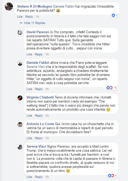david parenzo piccolo fuhrer emanuele fiano - 2