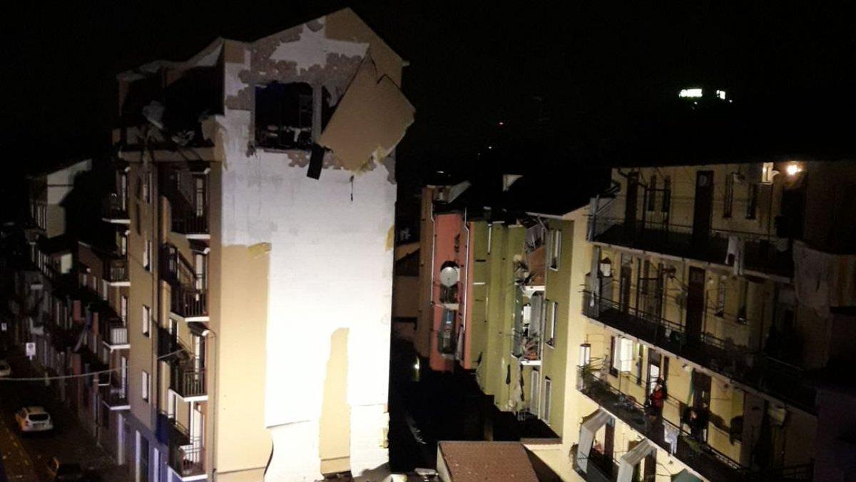 esplosione edificio sesto san giovanni via villoresi