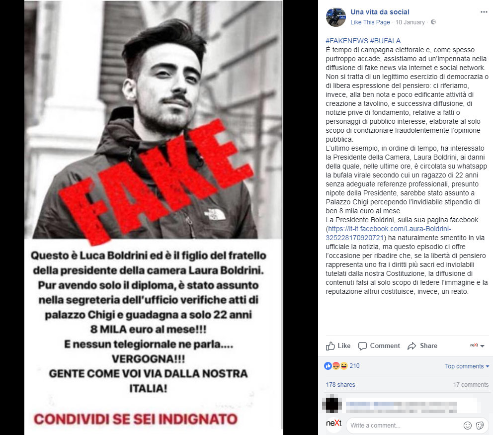 fake news ministero interno polizia postale - 1