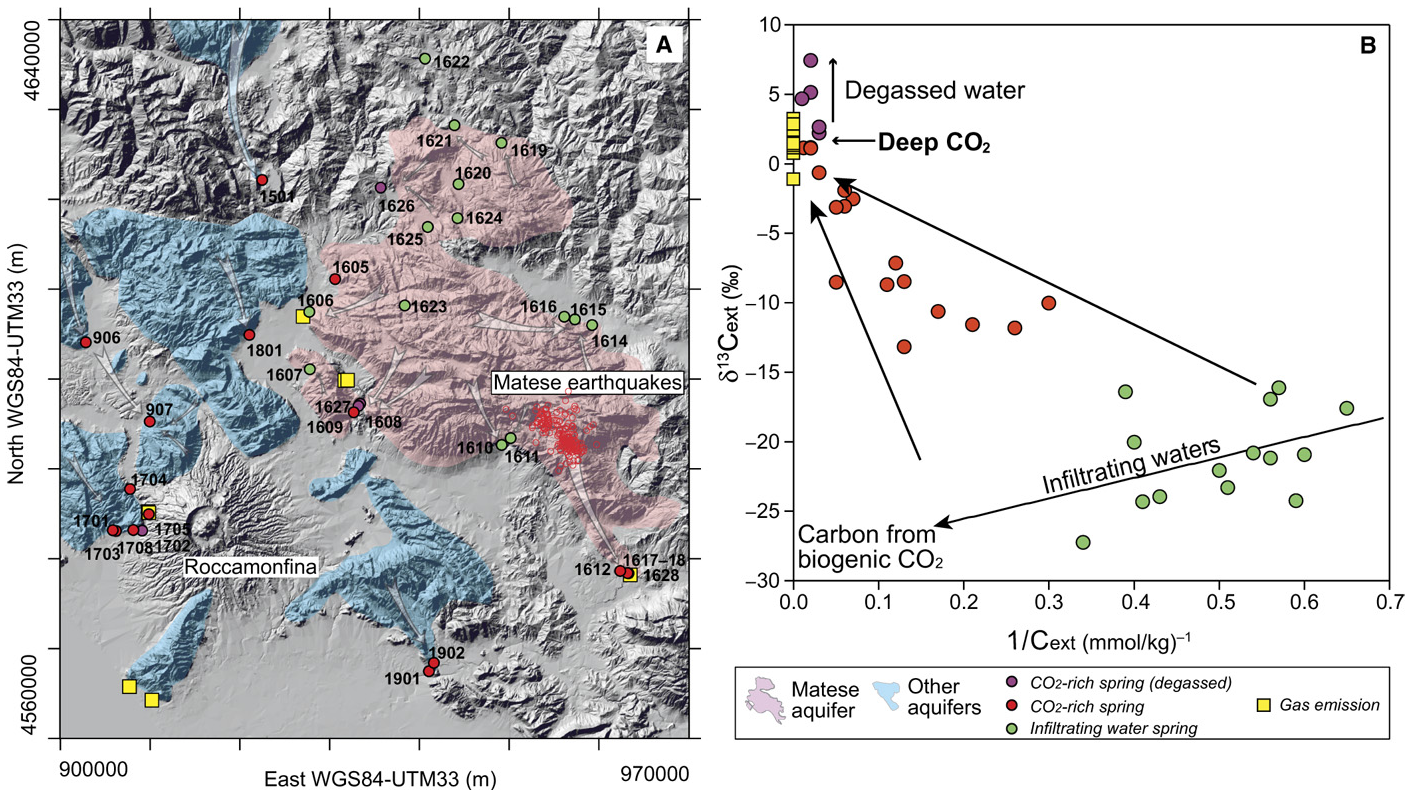 magma appennino matese abruzzo terremoti ingv francesca di luccio - 2
