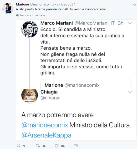 marione candidato parlamentarie - 1
