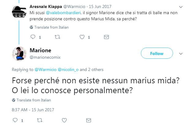 marione marius mida twitter - 11