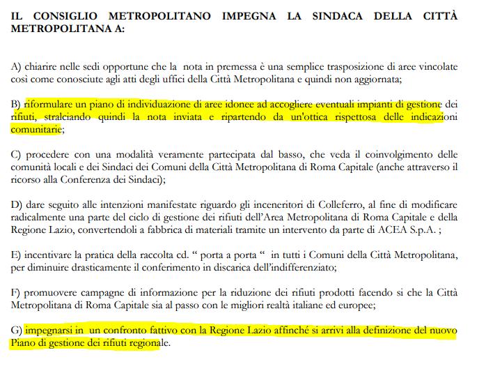roma città metropolitana rifiuti regione lazio - 4