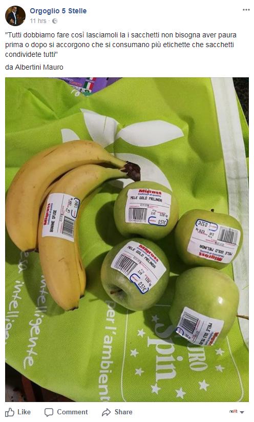 sacchetti biodegratabili spesa costo - 2
