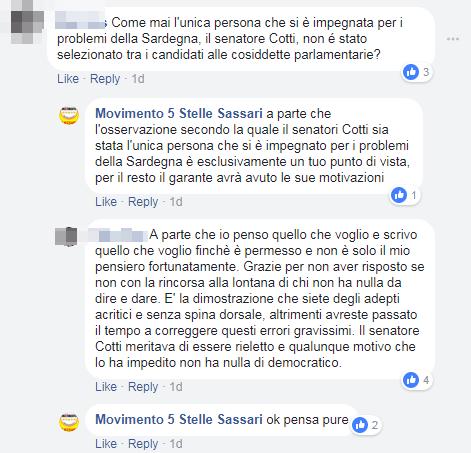 sassari rissa consiglio comunale 5 stelle - 5