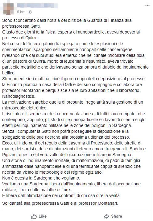 complotto perquisizione finanza gatti montanari nanodiagnostics - 1
