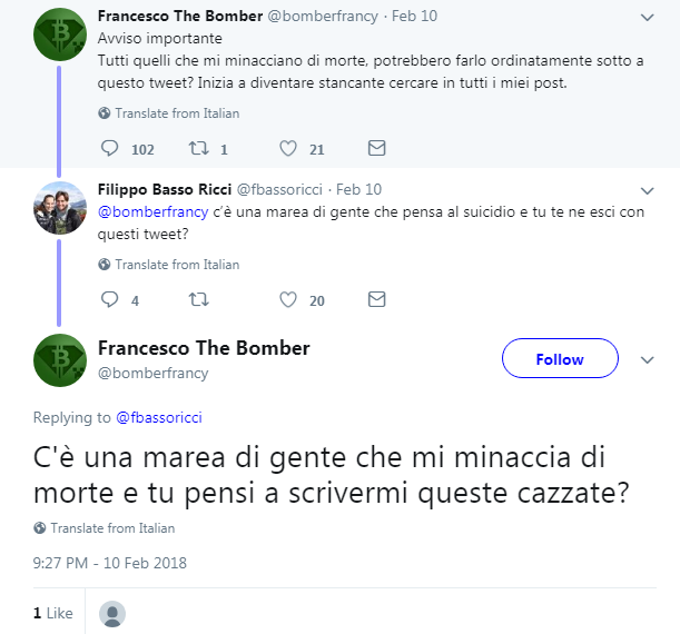 francesco the bomber firano nano bitgrail - 2