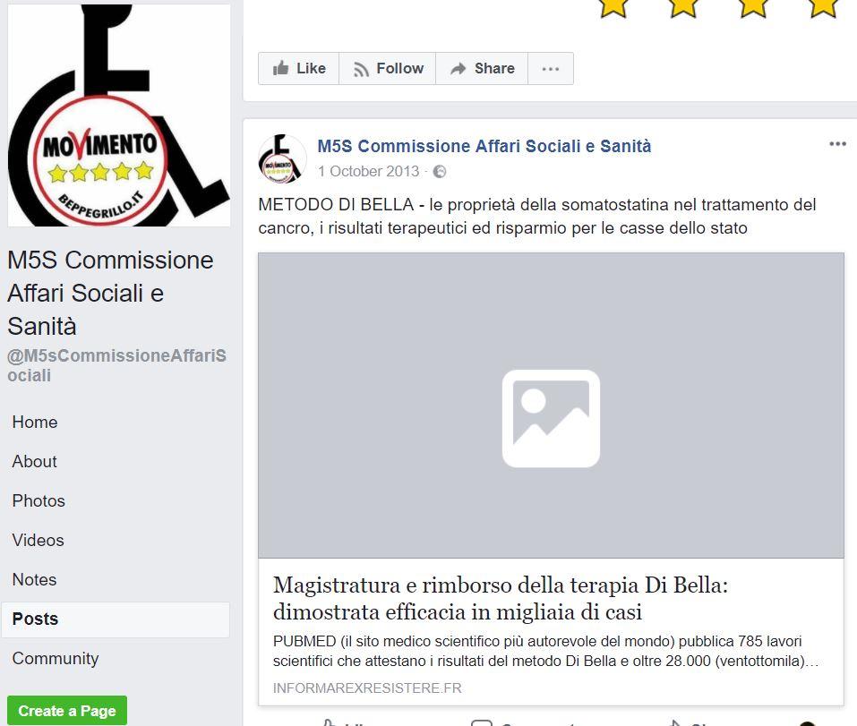 M5s, la direttiva in Veneto: