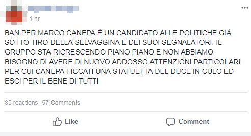 marco canepa pnd casapound brindisi - 1