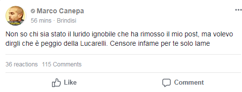 marco canepa pnd casapound brindisi - 2