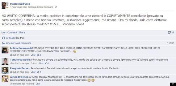 matita copiativa voto sicuro elezioni politiche 2018 matteo dall'osso - 1