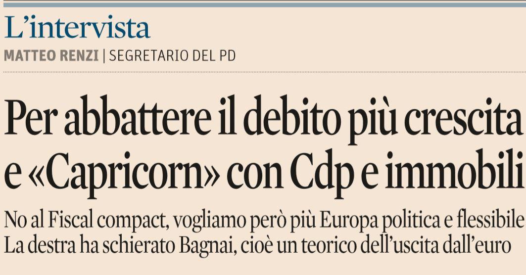 Eco - Bankitalia,debito salito a 2.256,1 mld