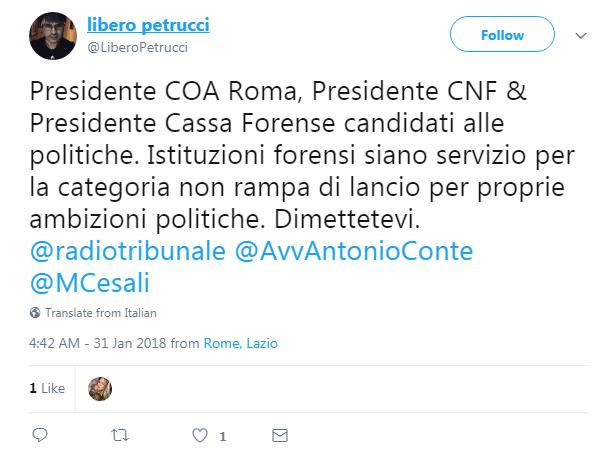 mauro vaglio ordine avvocati roma proteste dimissioni - 1