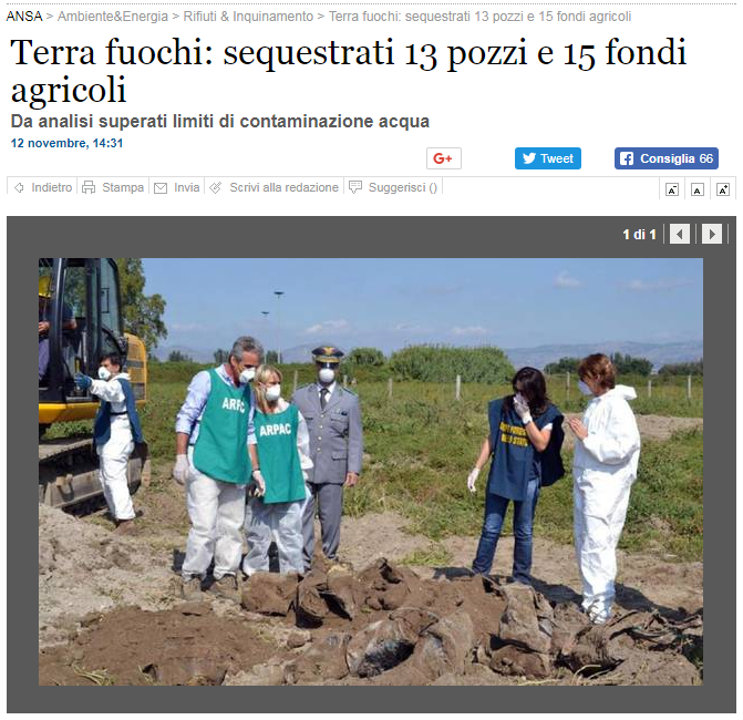 sergio costa sequestro pozzi inquinati caivano - 2