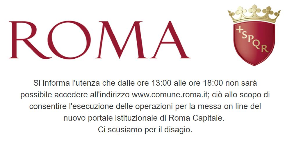 il nuovo sito del comune di roma i meriti sono del pd