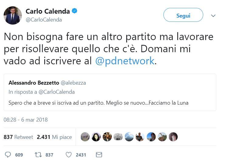 carlo calenda pd antirenzi