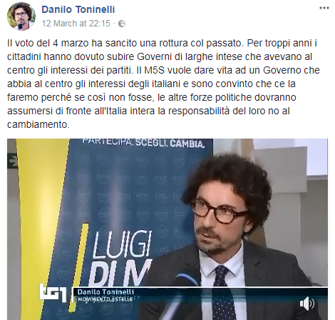danilo toninelli presidente senato - 1