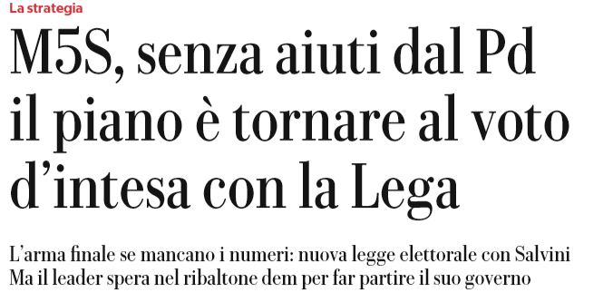 governo pd m5s 2