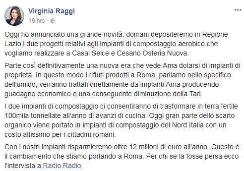 impianti compostaggio AMA Roma casal selce cesano raggi - 2