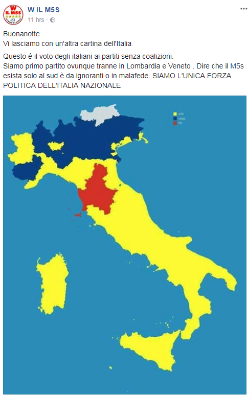 mappa del voto m5s coalizioni - 2
