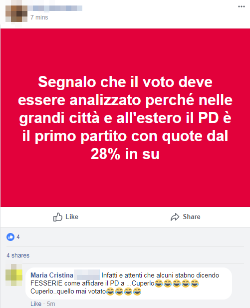 renziani pd sconfitta - 6