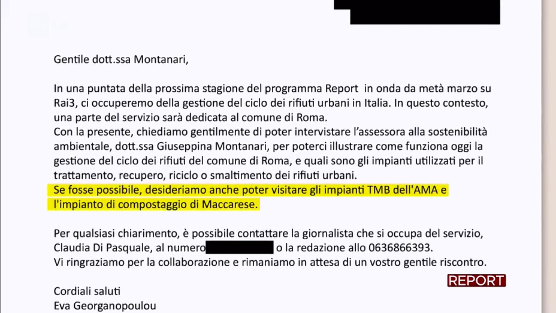 rifiuti roma report montanari richiesta visita nuovo salario rocca cencia - 2