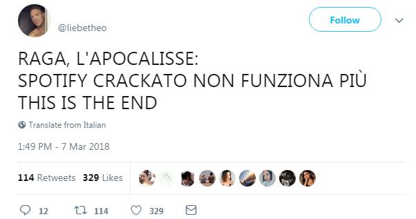 spotify crack crackato utenti bloccati - 1