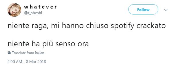 spotify crack crackato utenti bloccati - 9