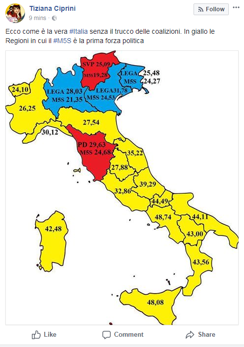 tiziana ciprini mappa del voto m5s - 1