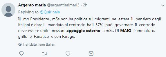 appoggio esterno forza italia m5s governo di maio - 2