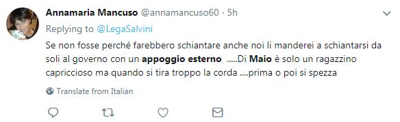 appoggio esterno forza italia m5s governo di maio - 3