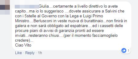 appoggio esterno forza italia m5s governo di maio - 5