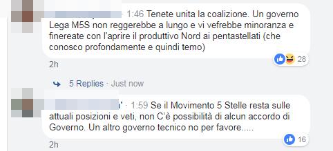 appoggio esterno forza italia m5s governo di maio - 8