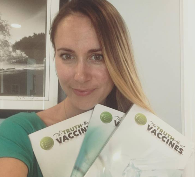 brittney kara vaccini bibbia antivax - 4