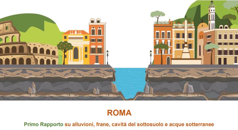 Roma, da Monteverde alla Balduina: ecco le zone a rischio frana