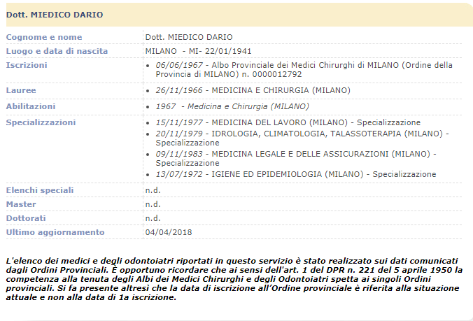 gabriella maria lesmo radiazione ordine medici - 4