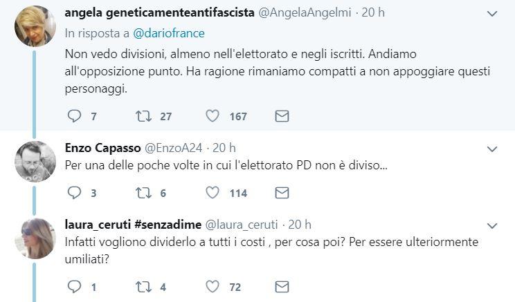 pd franceschini troll renziani