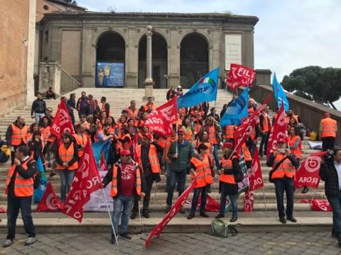 roma metropolitane sciopero campidoglio 1