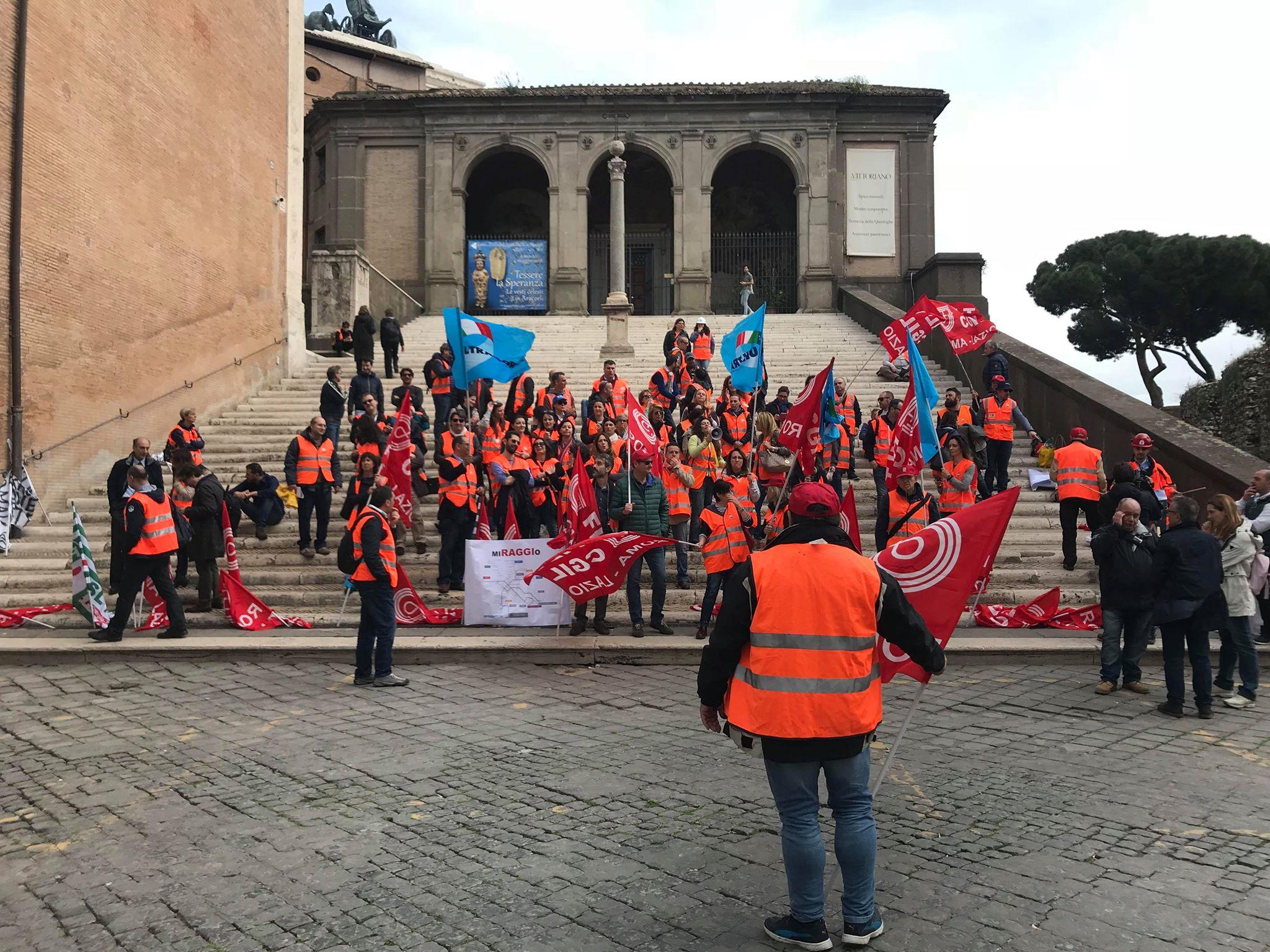 roma metropolitane sciopero campidoglio