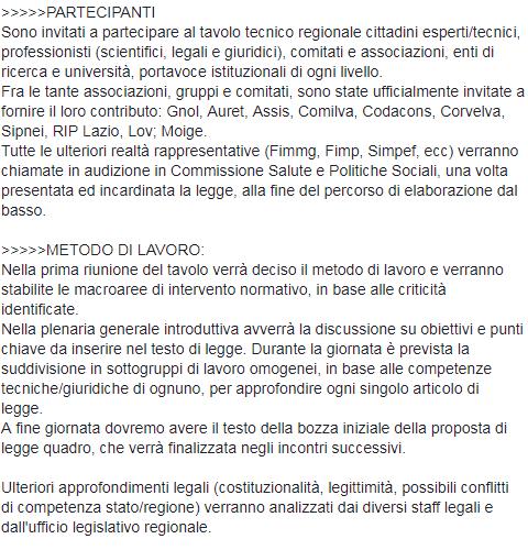 tavolo tecnico vaccini legge barillari m5s comilva auret corvelva - 4