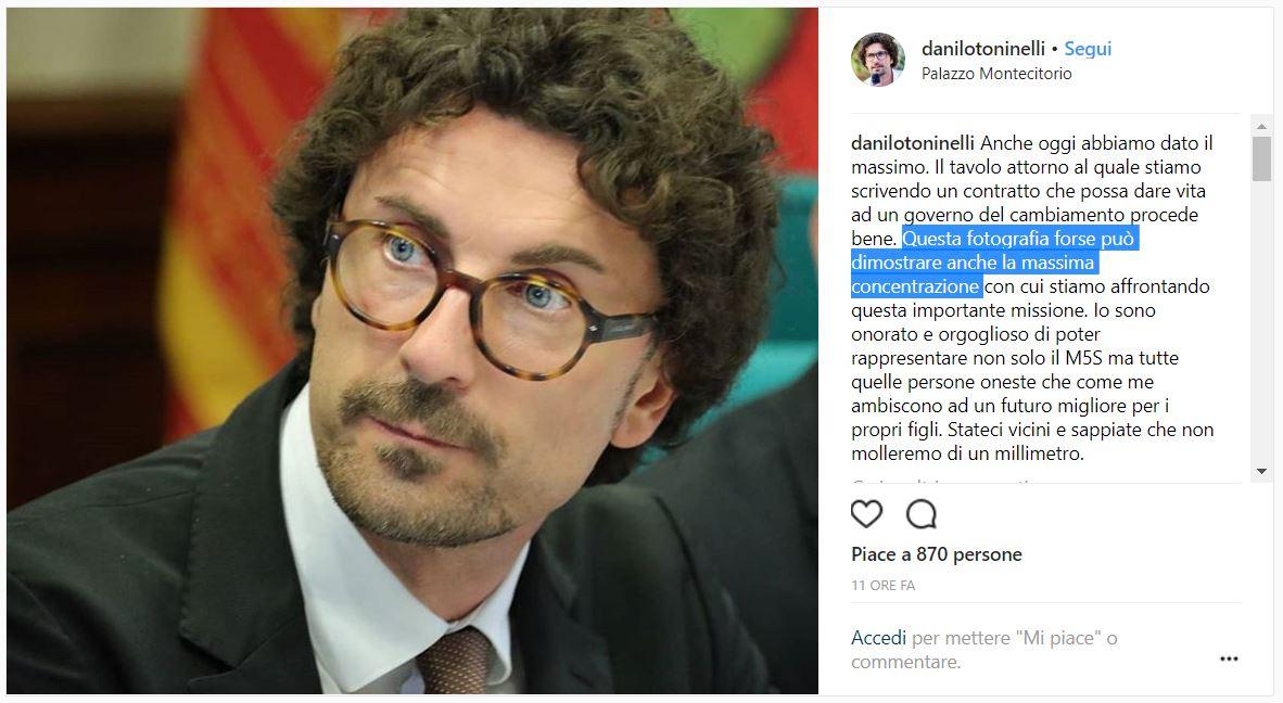 DANILO TONINELLI FOTO