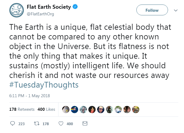 flat earth society terra piatta birmingham convention - 3