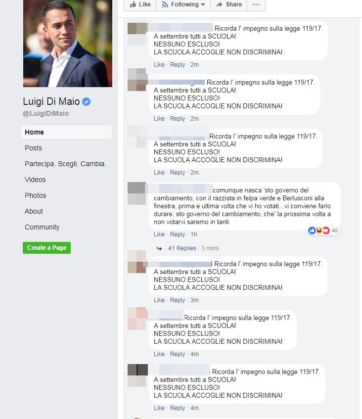 free vax abolizione legge lorenzin di maio - 2