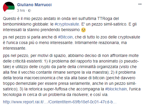 giuliano marrucci report criptovalute bitcoin - 1