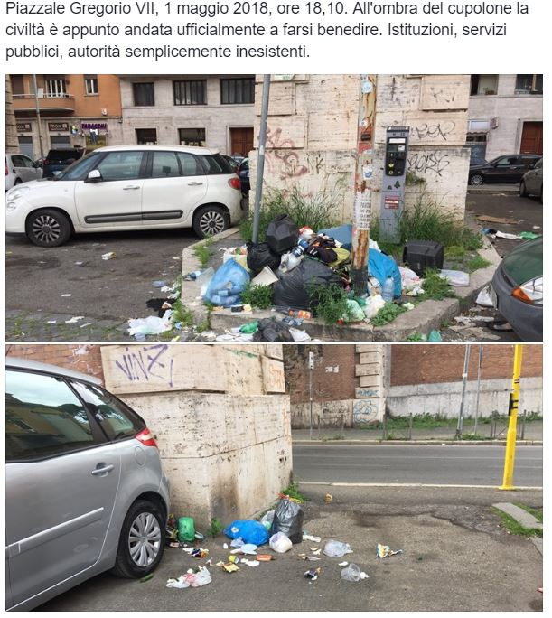 monnezza roma 4