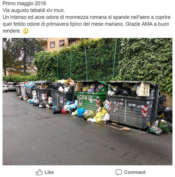 monnezza roma 5