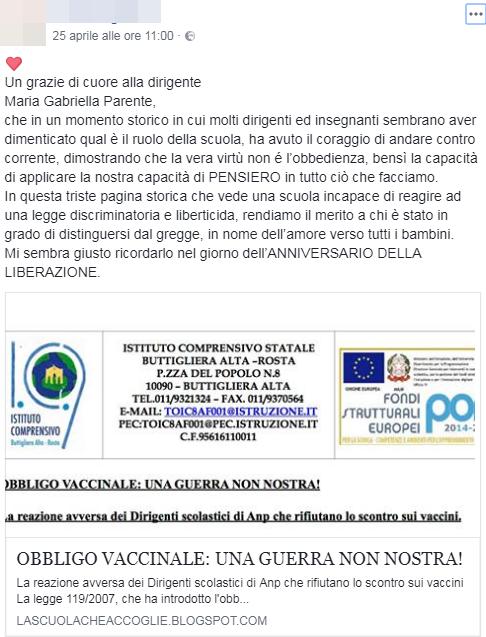 obbligo vaccinale anp istituto comprensivo statale buttigliera alta maria parente - 6