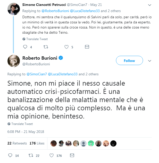 salvini psicofarmaci italiani crisi depressione - 3