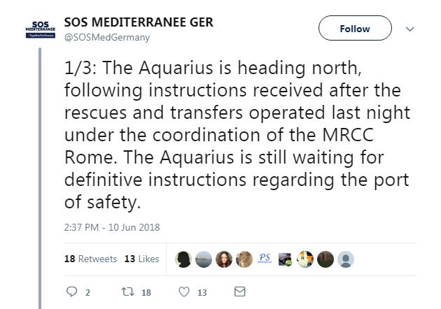 malta italia migranti porti aquarius ong - 3